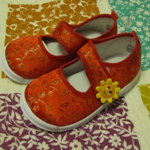 Red Mary Jane Toddler Shoes size 24 (9)